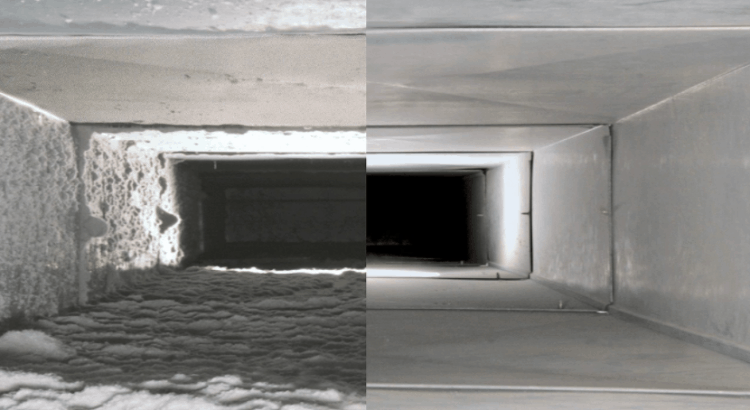 air duct before after